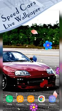 Magic Touch - Racing Cars LWP screenshot 4