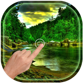 Magic Ripple - Rain Forest LWP icon