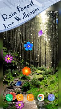 Magic Ripple - Rain Forest LWP screenshot 1
