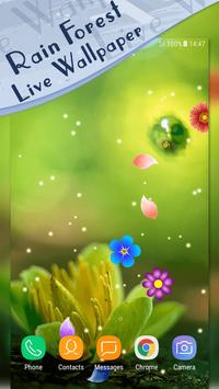 Magic Ripple - Rain Forest LWP apk screenshot