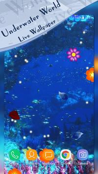 Underwater World Live Wallpaper poster