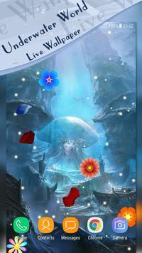 Underwater World Live Wallpaper apk screenshot