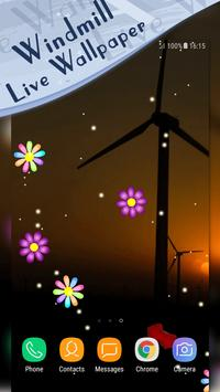 Windmill Energy Live Wallpaper poster