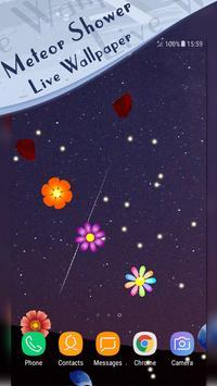 Meteor Shower Live Wallpaper apk screenshot