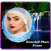Waterfall live photo frames icon