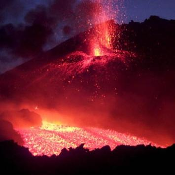 Etna Sicily Water LWP apk screenshot