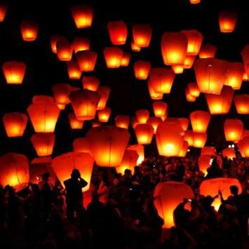 Lanterns love LWP poster