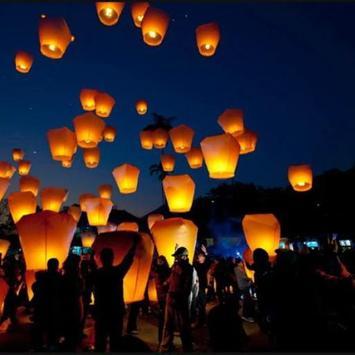 Lanterns love LWP apk screenshot