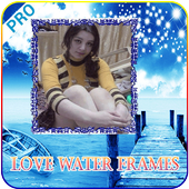 Love Water Photo Frame icon