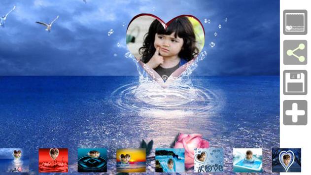 Love Water Photo Frame apk screenshot