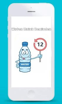 Water Drink Reminder poster