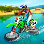 Water Surfing Motorbike Stunt APK
