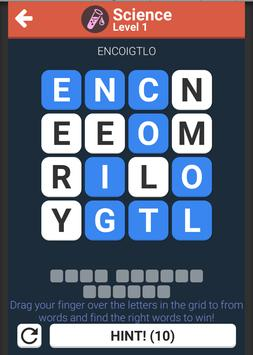 word puzzles game screenshot 1