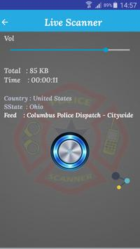 Only Police Scanner apk screenshot