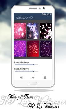 Waterfall Theme HD Live Wallpaper screenshot 14