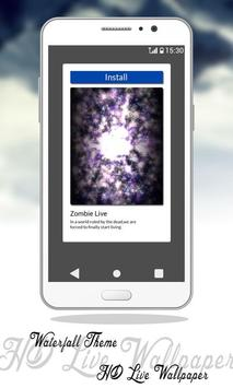Waterfall Theme HD Live Wallpaper screenshot 2