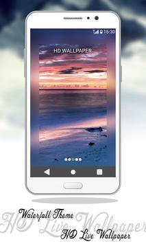 Waterfall Theme HD Live Wallpaper screenshot 3