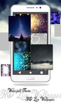 Waterfall Theme HD Live Wallpaper screenshot 9