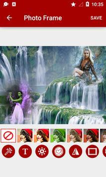 Waterfall Dual Photo Frames screenshot 6