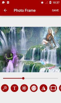 Waterfall Dual Photo Frames screenshot 11