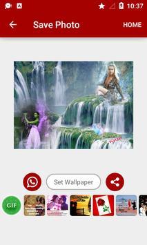 Waterfall Dual Photo Frames screenshot 12