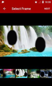 Waterfall Dual Photo Frames screenshot 1