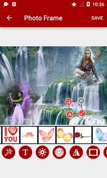Waterfall Dual Photo Frames screenshot 2