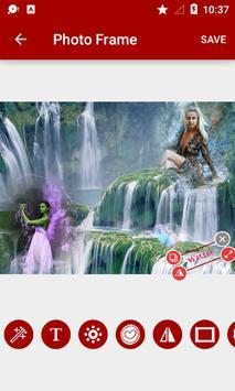 Waterfall Dual Photo Frames screenshot 3