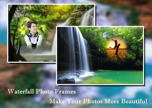 Waterfall Photo Frames 2 poster