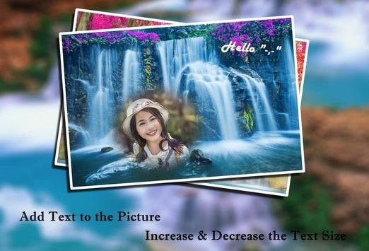 Waterfall Photo Frames 2 apk screenshot