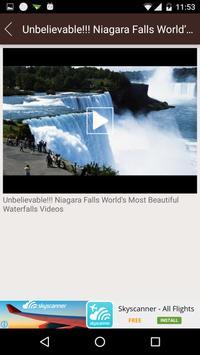 Waterfall Videos Worldwide apk screenshot