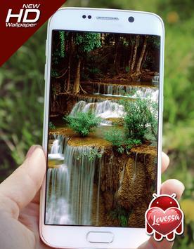 Waterfall Lovessa Wallpaper apk screenshot