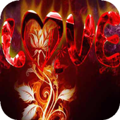 Love on Fire a live icon