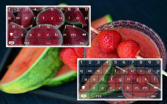 Free Watermelon Keyboard apk screenshot