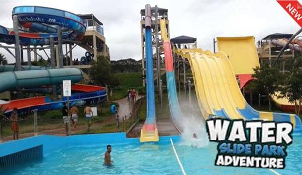 Water Slide Adventure 2017 poster