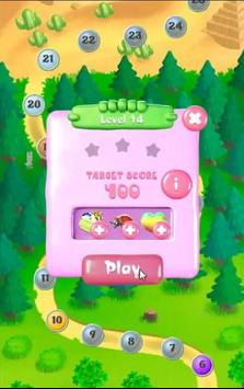 Candy Fruit Match Mania screenshot 1