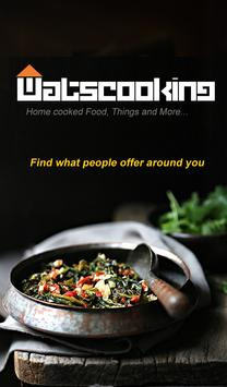 Watscooking - Home Cooked Food poster