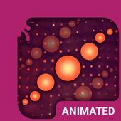 Cherry Swirl Animated Keyboard icon