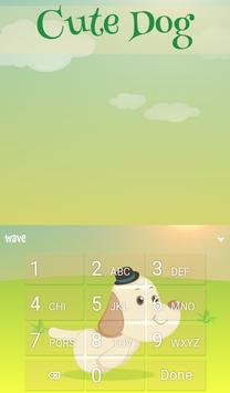Cute Dog Animated Keyboard screenshot 4