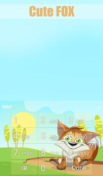 Cute Fox Animated Keyboard screenshot 4