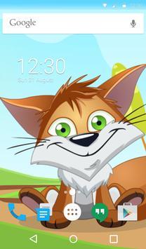 Cute Fox Animated Keyboard screenshot 5