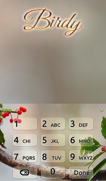 Birdy Animated Keyboard apk screenshot