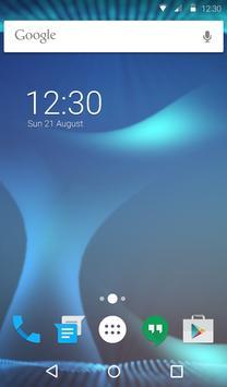 Abstract Blue Animated Keyboard apk screenshot