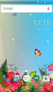 Butterflies Animated Keyboard apk screenshot