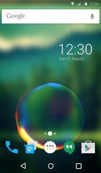 Splashing Bubble Keyboard apk screenshot