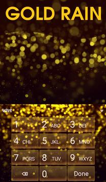 Gold Rain Animated Keyboard screenshot 4
