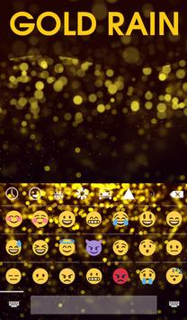 Gold Rain Animated Keyboard screenshot 3
