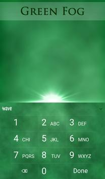 Green Fog Animated Keyboard apk screenshot