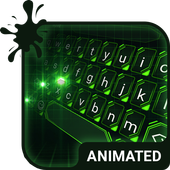 Green Light Animated Keyboard icon