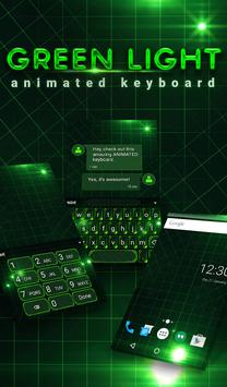 Green Light Animated Keyboard poster